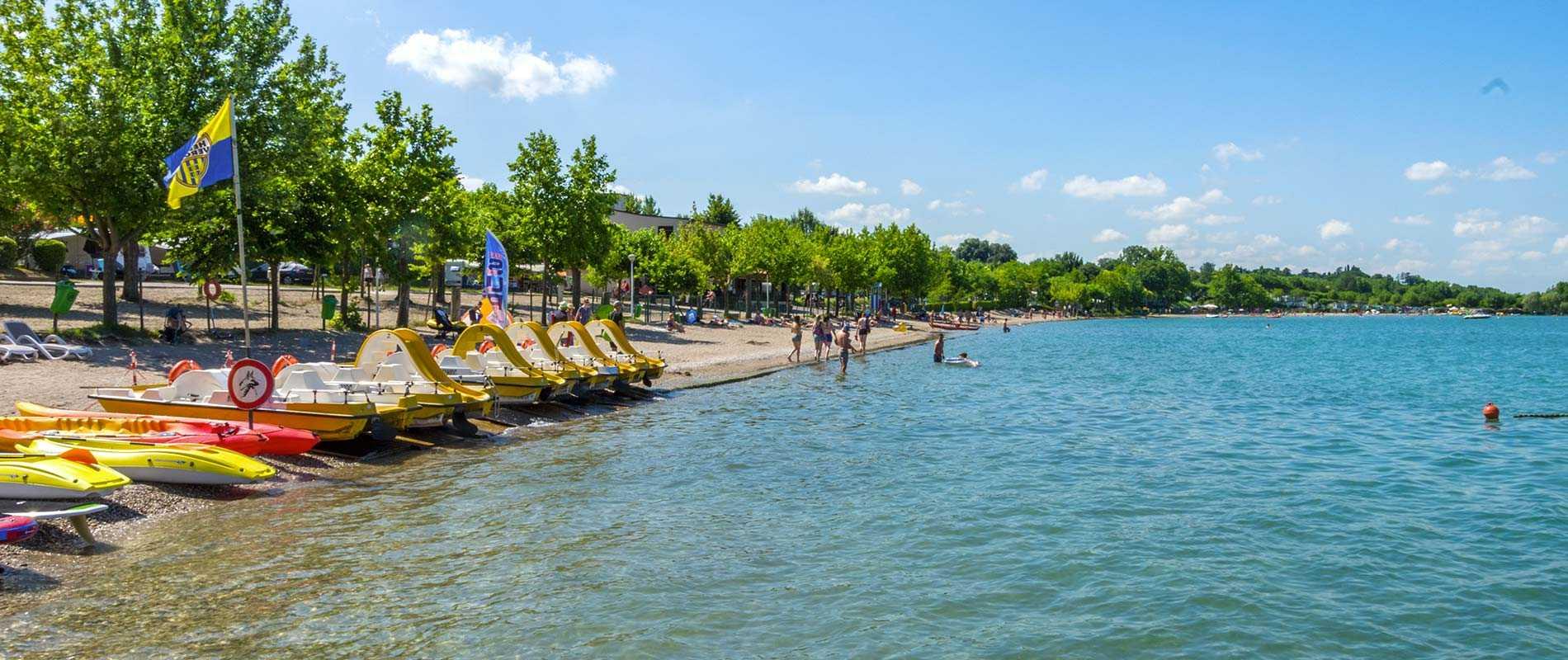 Campingplatz Gardasee   Spiaggia d'Oro Camping Lazise   Urlaub am ...
