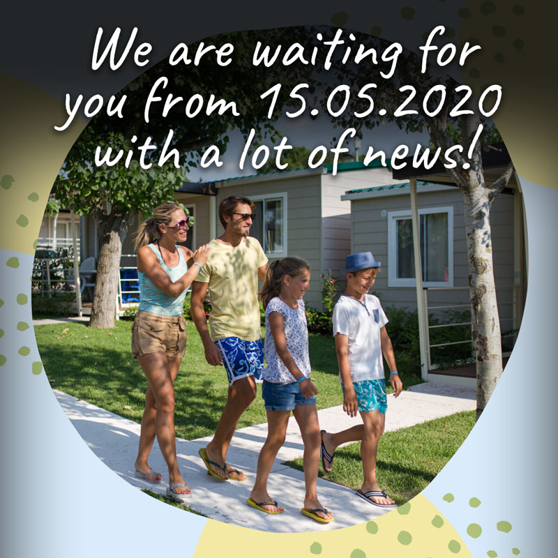 We are waiting for you from 15.05.2020 with a lot of news!